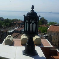 Photo taken at Dersaadet Hotel Istanbul by Bander A. on 5/1/2012