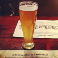 Photo taken at Iron Hill Brewery & Restaurant by Tatiana S. on 2/25/2012