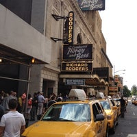 Photo taken at Richard Rodgers Theatre by Micah M. on 8/26/2012