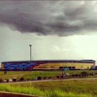Photo taken at Estadio Monumental de Maturín by Carlos B. on 6/30/2012