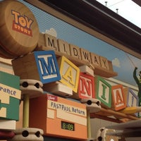 Photo taken at Toy Story Midway Mania by Molly B. on 6/9/2012