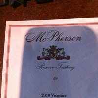 Photo taken at McPherson Cellars by Ash A. on 6/16/2012
