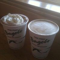 Photo taken at Pearl Street Bagels by Lorene B. on 5/17/2012