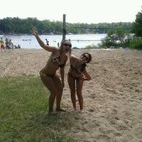 Photo taken at Long Lake by Kristy J. on 7/4/2012