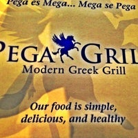 Photo taken at Pega Grill by Yiğit O. on 3/30/2012