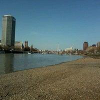 Photo taken at Vauxhall Bridge by Alessandro D. on 4/1/2012