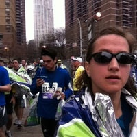 Photo taken at NYRR NYC Half 2012 - Finish Line by Colleen S. on 3/18/2012