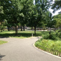 Photo taken at Paerdegat Park by Camille M. on 7/1/2012