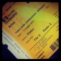 Photo taken at Teatro delle Celebrazioni by Alessia I. on 5/11/2012