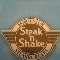 Photo taken at Steak 'n Shake by Ashley R. on 3/11/2012