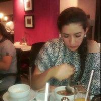 Photo taken at Morrocoy Café-bistró by Daisy B. on 6/15/2012