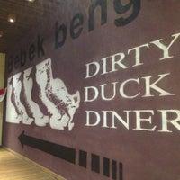 Photo taken at Bebek Bengil (Dirty Duck Diner) by Christianto on 8/19/2012