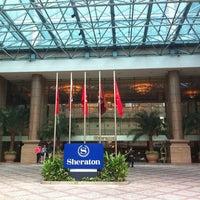 Photo taken at Sheraton Saigon Hotel & Towers by T056161k0 H. on 4/29/2012