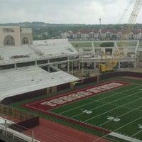 Photo taken at Bobcat Stadium by Frank B. on 3/30/2012