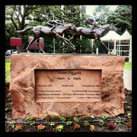 Photo taken at Haydock Park Racecourse by Amy C. on 6/15/2012