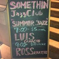 Photo taken at Somethin' Jazz Club by Millie C. on 8/15/2012