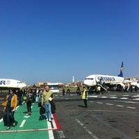 """Photo taken at Aeroporto di Roma Ciampino """"Giovan Battista Pastine"""" (CIA) by Michal M. on 3/30/2012"""