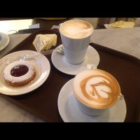 Photo taken at Caffe Lavazza @ Eataly by Built F. on 5/24/2012