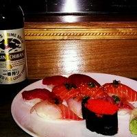 Photo taken at Land of Sushi by John P. on 3/7/2012
