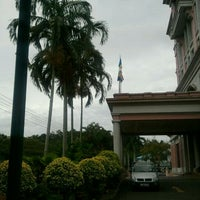 Photo taken at Lembaga Hasil Dalam Negeri Malaysia by Genji T. on 4/21/2012