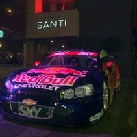 Photo taken at Boteco Santi by Marcos Vinicius on 4/12/2012