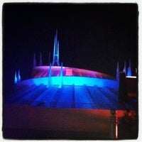 Photo taken at Space Mountain by Brian H. on 8/8/2012
