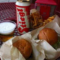 Photo taken at Little Big Burger by Jared S. on 8/21/2012