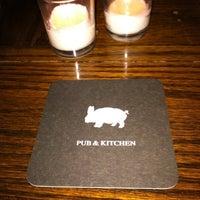 Photo taken at Pub & Kitchen by Maria on 2/26/2012