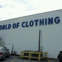 Photo taken at World of Clothing by Alex B. on 9/2/2012