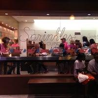 Photo taken at Sprinkles Cupcakes by Joshua on 8/26/2012