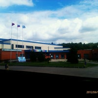 Photo taken at Бассейн «Радужный» by Masha m. on 6/16/2012