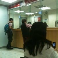 Photo taken at Banco Santander by Belen O. on 4/5/2012