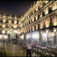 Photo taken at Plaza Mayor by Valentin K. on 5/14/2012