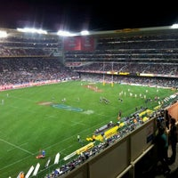 Photo taken at Newlands Rugby Stadium by Smallz M. on 5/12/2012