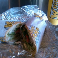Photo taken at Which Wich? Superior Sandwiches by Britni B. on 6/28/2012