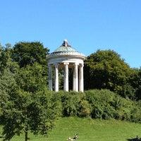 Photo taken at Englischer Garten by Massimo on 8/19/2012