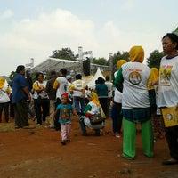 Photo taken at Lapangan Pors 8 No. 9b by Dewo S. on 7/5/2012