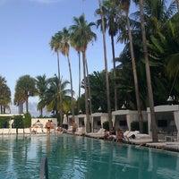 Photo taken at Delano South Beach by Julia O. on 8/21/2012