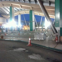Photo taken at Sultan Abu Bakar CIQ Complex by Husna L. on 3/23/2012