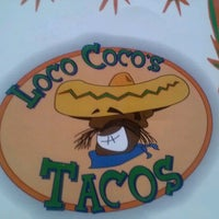 Photo taken at Loco Coco's Tacos by Sarah D. on 9/2/2012
