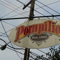 Photo taken at Pompilio's Italian Restaurant by Micayla S. on 8/4/2012