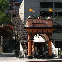 Photo taken at Angels Flight Railway by Bradley B. on 8/9/2012