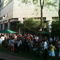 Photo taken at With Love Beer Garden at the Four Seasons Hotel Philadelphia by Matt H. on 6/8/2012