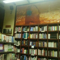 Photo taken at Diwan Bookstore by Ahmed S. on 7/16/2012