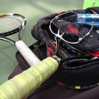 Photo taken at Phú Thọ tennis club by Tinu on 7/27/2012