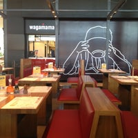 Photo taken at Wagamama by Ellie P. on 6/28/2012
