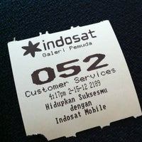 Photo taken at Galeri Indosat by Mia D. on 2/15/2012