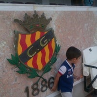 Photo taken at Nou Estadi by David T. on 7/11/2012