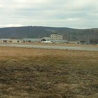 Photo taken at Elmira / Corning Regional Airport (ELM) by Jared M. on 2/28/2012
