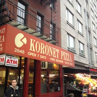 Photo taken at Koronet Pizza by Zach S. on 3/15/2012